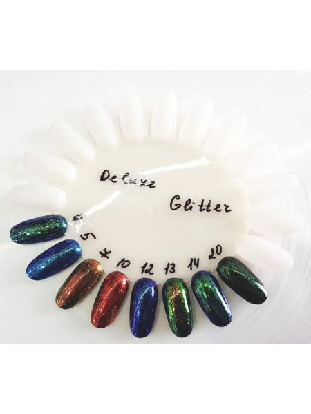 Втирка для ногтей Deluxe glitter №005