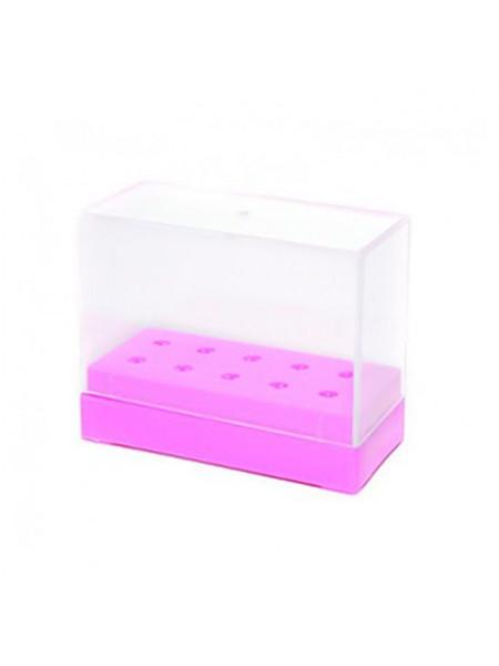 Подставка для боров и фрез 2,35 (10 шт.) Розовая