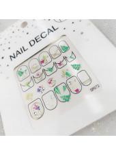 3D наклейки для дизайна ногтей №72