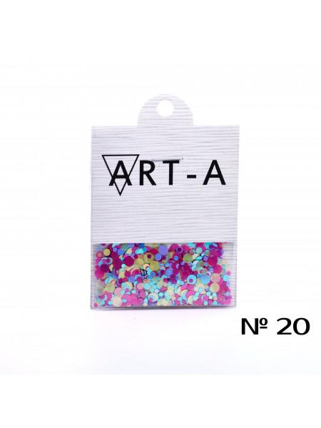Камифубуки для дизайна ногтей №20