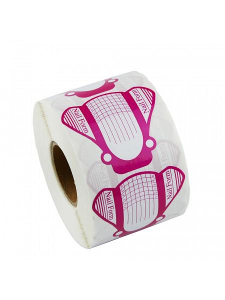 Формы для ногтей РОЗОВАЯ (Упаковка 500шт.)