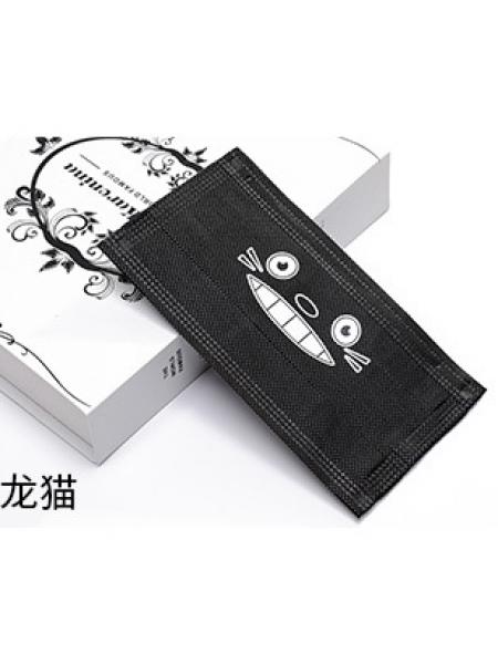 Маска 3-х слойная c принтом (упаковка 10 штук) №2