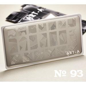 Пластина для стемпинга Art-A 093
